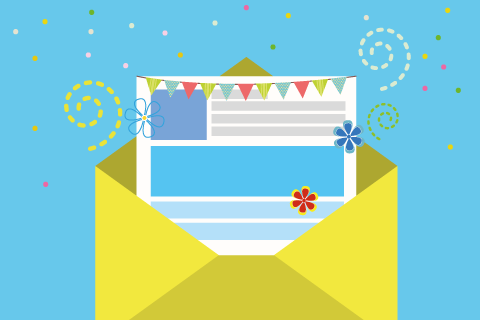 L'email marketing per le feste