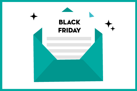 24 impressionanti campagne email Black Friday